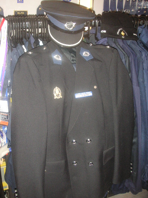 GP uniform adjudant